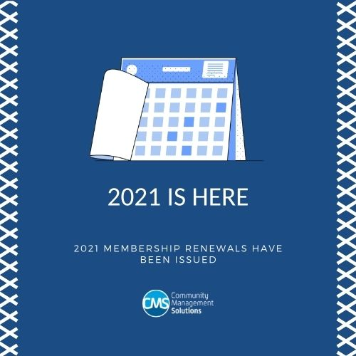 Membership renewal 2021