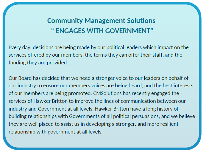 CMS engages w Gov 2