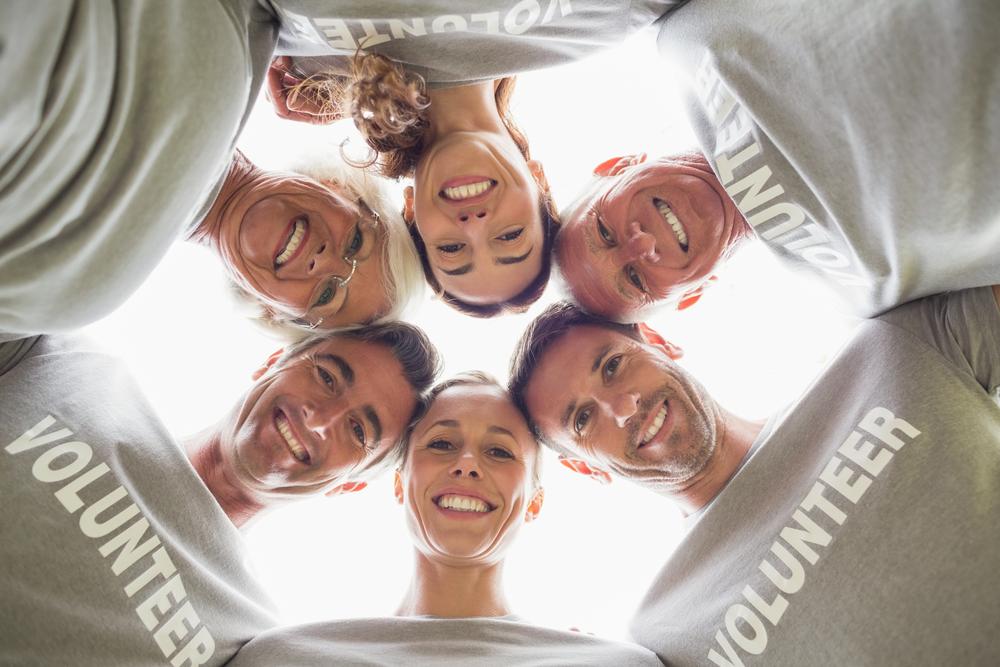 Volunteer - Group of people